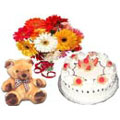 Send New Born Gifts to Delhi : New Born Flowers to Delhi : New Born Cakes to Delhi