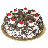 Birthday Cakes to Delhi - Black Forest Cake From 5 Star