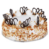 Send Cake to Delhi - Butter Scotch Cake From 5 Star
