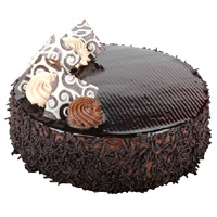 Send Eggless Cake in Delhi - Chocolate Cake From 5 Star