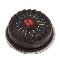 Eggless Birthday Cake Delivery in Delhi - Chocolate Cake