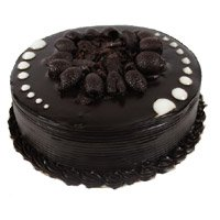 Send Eggless Birthday Cakes to Delhi - Chocolate Cake