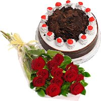 Birthday Eggless Cakes to Delhi : Flowers to Delhi