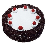 Deliver Birthday Cakes to Delhi - Black Forest Cake From 5 Star