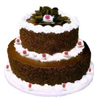 Online Birthday Cake Delivery in Delhi - Tier Black Forest Cake