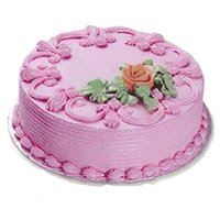 Deliver Cake in Delhi - Strawberry Cake From 5 Star