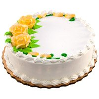 Cakes Delivery to Delhi - Vanilla Cake From 5 Star