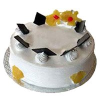 Online Birthday Cakes to Delhi - Pineapple Cake From 5 Star