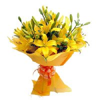 Online Flower Delivery in Delhi - Yellow