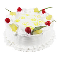 Deliver Cakes to Delhi - Pineapple Cake From 5 Star