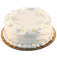Home Delivery of Cakes to Delhi - Vanilla Cake From 5 Star
