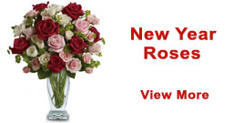 New Year Roses to Delhi